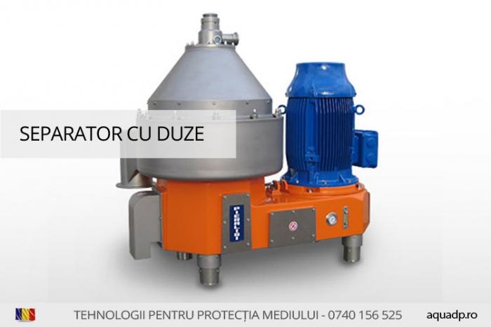 Separator centrifugal.