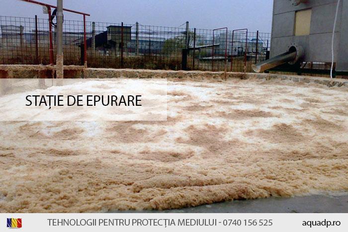 epurarea apelor uzate provenite de la abatorul de pasari Avicola Buzau